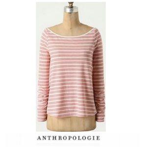 Anthropologie Postmark Striped Top